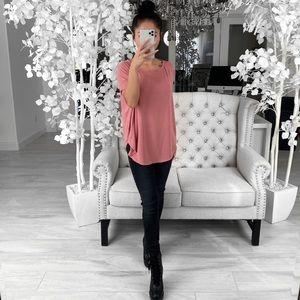 ekattire Tops - RAINA— in Rose